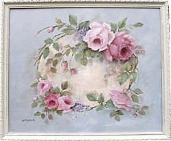 "Original Painting - ""Dreamy Roses"" - FREE POSTAGE Australia wide"
