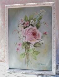 "Original Painting - ""Vintage Bouquet"" - Postage is included Australia wide"
