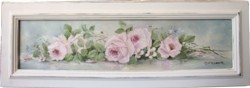 """Original Painting - """"Long loose Roses"""" - Postage is included Australia wide"""