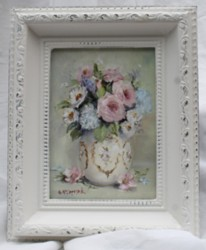 Original Painting in Ornate Frame (No. 3) - Postage is included Australia wide