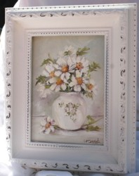 Original Painting in Ornate Frame (No. 4) - Postage is included Australia wide