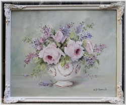 """Original Painting - """"Autumn Blooms"""" - Postage is included Australia wide"""