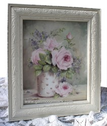 "Original Painting -""Roses & blooms"" - Postage is included Australia wide"