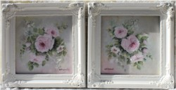 Pair of Original Paintings in Ornate Frames - Postage is included Australia Wide