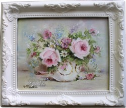 Original Painting - A Mixed Bowl - Postage is included in the price Australia wide