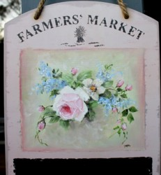 Farmers Market Blackboard - Postage is included Australia wide