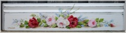 Hand Painted Architrave Section - Free Postage Australia Wide