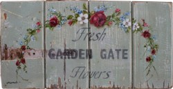 Original Painting - Fresh Farm Gate Flowers - Postage is included in the price Australia wide