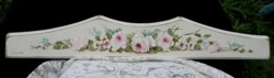 Hand Painted Timber Panel - Laying Flowers - Free Postage Australia Wide