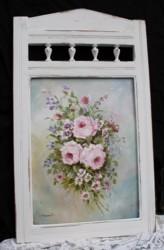 Original Painting - Flowing Flowers - Free Postage Australia Wide