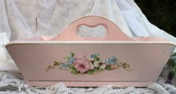 Original Painting on a Wooden Carry All - Postage is included in the price Australia wide