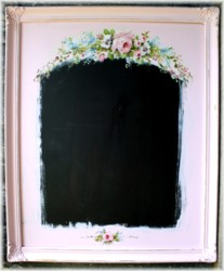 Framed-Hand Painted Blackboard - Postage is included in the price Australia wide