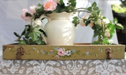 Hand painted Vintage Drawer - Postage is included in the price Australia wide