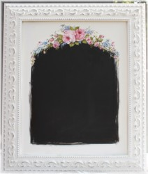 Hand Painted Blackboard in Ornate Frame-Postage is included in the Price Australia wide