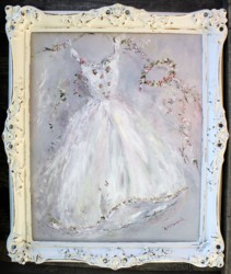 Original Painting - The Gown - Postage is included in the price Australia wide