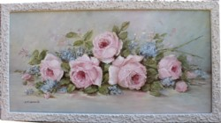 Original Painting - Laying Late Summer Roses - SOLD out