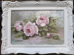 Original Painting - Laying Vintage Rose Study - Sold Out