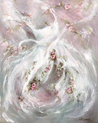Original Painting on Canvas - Tutu - Postage is included Australia Wide