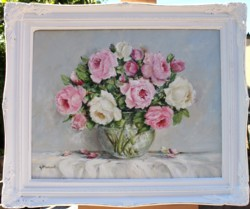 Original Painting - From the Garden - postage is included Australia wide