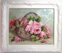 Original Painting - Vintage Rose Study - Postage is included in the price Australia wide