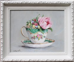 Original Painting - English China B - Postage is included Australia Wide