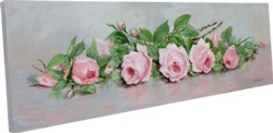 """Original Painting on Panel - """"Resting Roses"""" - postage included Aus. wide"""
