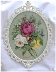 Original Painting - Assorted Roses - Postage is included Australia Wide
