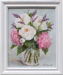 Original Painting - First December blooms