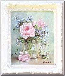 Original Painting - Heaven Scent Roses - Postage is included Australia Wide