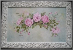 "Original Painting - ""Floating Roses"" larger size"