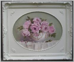 Original Painting - Elegant  Still life Roses - Free Postage Australia wide