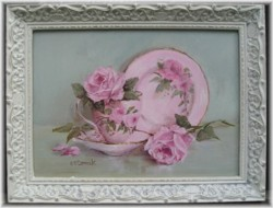 ORIGINAL Painting - Pink Beauty - Postage is included in the price Australia Wide