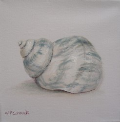 Original Beach Themed Painting - Sea Shell - Postage is included Australia wide