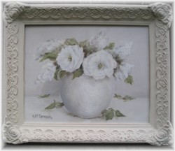 ORIGINAL Painting - Simply White - Postage is included in the price Australia Wide