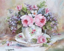 Tea Cup & Blooms - Free Postage Australia wide only
