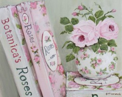 Ready to Frame Print  - The Rose Book Collection - Postage is included Worldwide