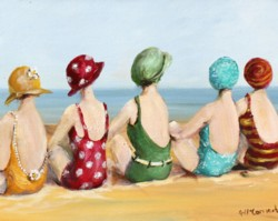 Beauties at The Beach - Postage is included in Australia only