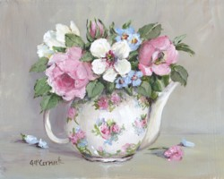 Blooms in a Teapot - Available as prints and gift cards