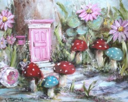 The Pink Fairy Garden - Postage is included Worldwide