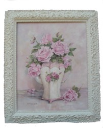 Roses in a Coffee Pot OriginalPainting