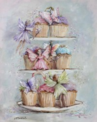 Cup Cake Fairies - Postage is included in Australia