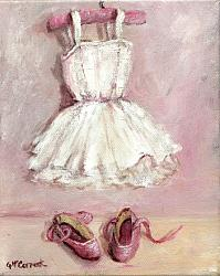 For The Budding Ballerina - Available as prints and gift cards