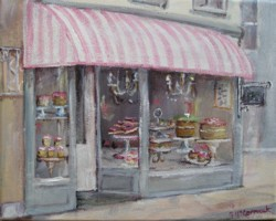Ready to Frame Print  - The French Cake Shop - Postage is included Worldwide