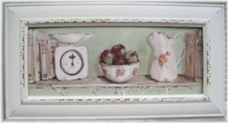 Original Painting - Larger size - French Country Kitchen Shelf - Postage is included Australia wide