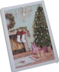 Gift Card-Single card - Christmas Expectations - Postage included Worldwide
