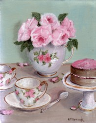 PRINT ON PAPER - Afternoon Tea - Free Postage WORLDWIDE