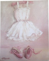 Ready to Frame Print  - For The Budding Ballerina - Postage is included Worldwide