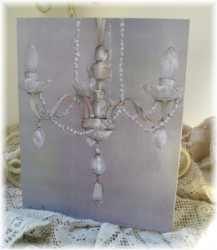 Ready to Frame Print  -  Chandelier - Postage is included Worldwide