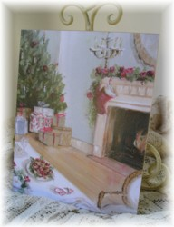 Ready to Frame Print - Christmas - Postage is included in the price Worldwide