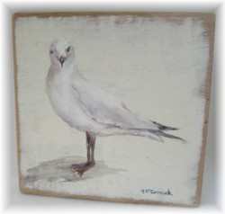 Original Painting - Seagull  - POSTAGE included Australia wide